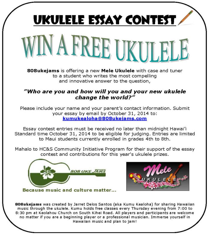 News | 808UkeJams: Ukulele lessons online : Because music